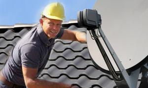 Wir steigen Ihnen aufs Dach!